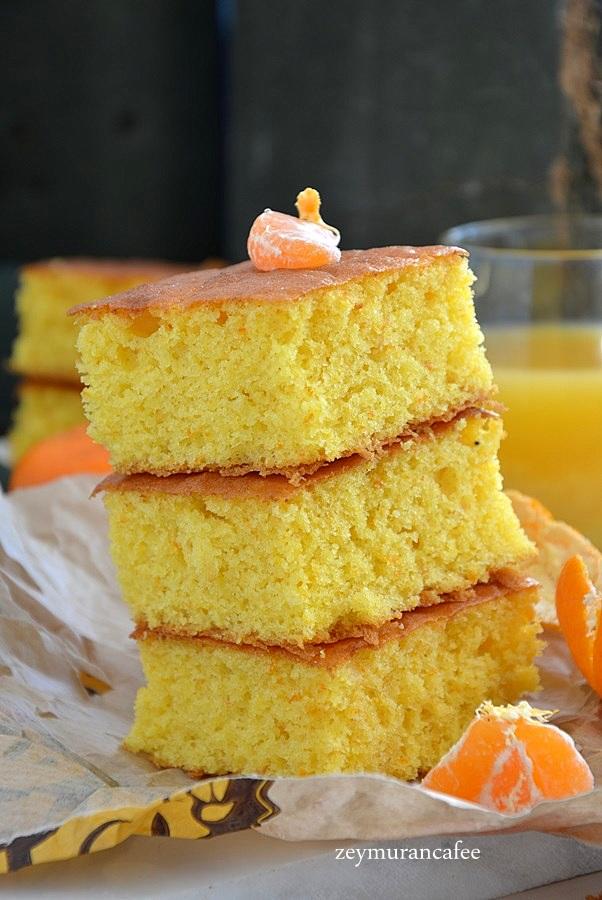 mandalinalı kek tarifi ve yapılışı
