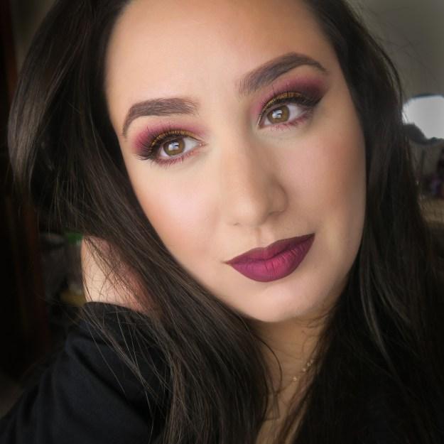 Modern Renaissance Palette Makeup Look