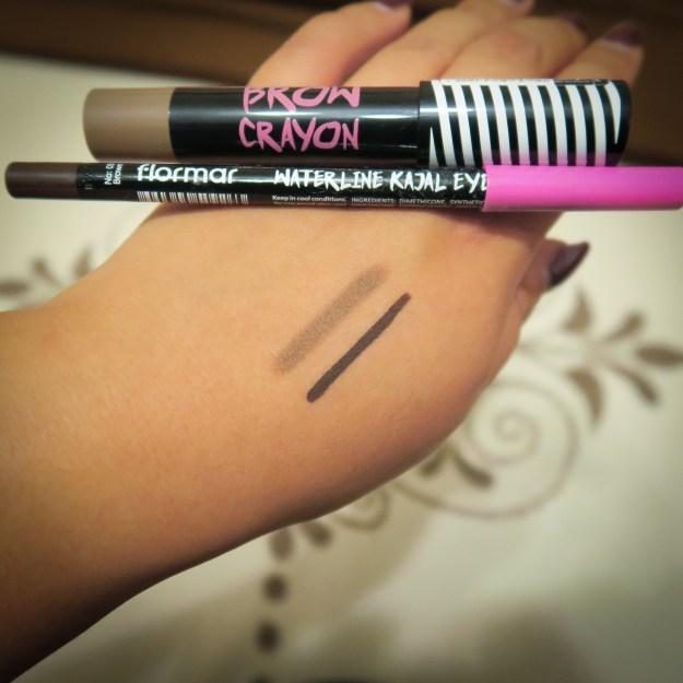 Flormar Brow Crayon and Waterline Kajal Liner