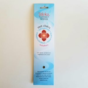 """Triloka Brand was a customer request which quickly turned into a huge success. The scents are varied and customers have """"FAVORITES."""" If I run out of a scent, they let me know immediately, and I order it right away. Triloka premium Incense sticks are a high-quality, hand-rolled natural incense. This masala incense is made from flowers, woods, resins, roots, herbs, gums, oils, etc. Triloka takes the finest ingredients nature has to offer and makes a beautiful herbal incense that is long lasting. It is a cottage industry fair-trade product crafted in India. Triloka incense sticks will release fragrance years after storage because of its high quality ingredients. Use these fragrant sticks for meditation, as a mood enhancer, or as a natural air freshener."""