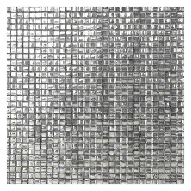 zfgm05 10 4mm mosaic glass tile silver