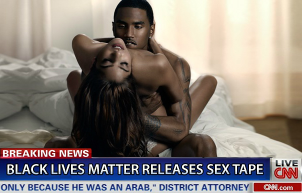 Black Lives Matter Releases Sex Tape To Get Media Coverage