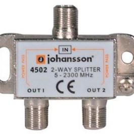 RozgałęŸnik 2-drożny Johansson Typ.4502