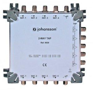 OdgałęŸnik/Tap (-10dB)4 x SAT+Terr.Johansson 9939