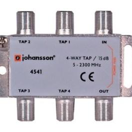 4 WAY TAP OdgałęŸnik 4-krotny Johansson 15 dB 4541