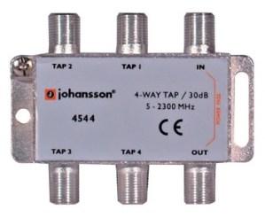 4 WAY TAP OdgałęŸnik 4-krotny Johansson 30 dB 4544