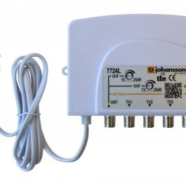 wzmacniacz Johansson 7724L 28dB 1-Wej/4-Wyj 4G/LTE