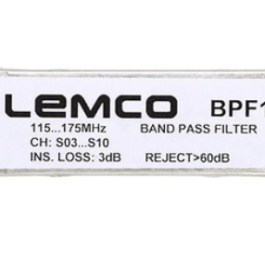 Filtr kanałowy LEMCO BPF1