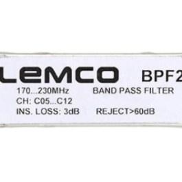 Filtr kanałowy LEMCO BPF2