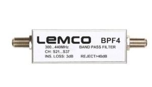 Filtr kanałowy LEMCO BPF4