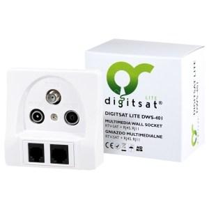 Gniazdo Multimedialne Digitsat DWS-401 końcowe