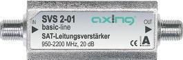 wzmacniacz liniowy sat. Axing SVS 2-01 20 dB