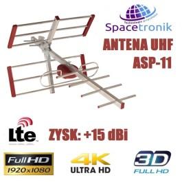 Antena kierunkowa UHF Yagi Spacetronik ASP-11 LTE