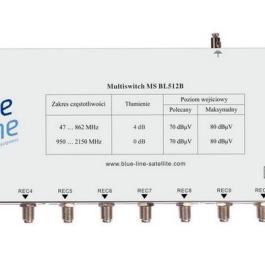 Multisiwtch Blue Line MS BL512B +zas