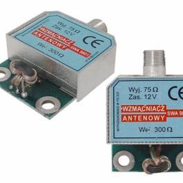 Wzmacniacz antenowy DVB-T SWA-9801 w obudowie