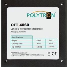 Splitter optyczny asymetryczny POLYTRON OFT 4060