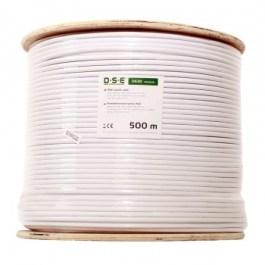 kabel DSE D630 RG6 CU 500m/bęben