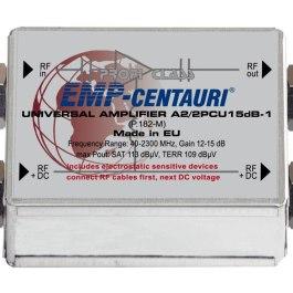Wzmacniacz SAT+TV EMP-centauri 12-15 dB A2/2PCU-1