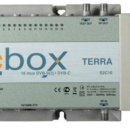 Stacja kompaktowa TERRA S2C16 DVB-S2->DVB-C
