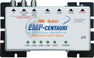 NET Class Switch EoC EMP-Centauri ES05-15 LAN-Coax