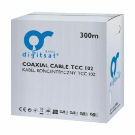 Kabel DIGITSAT TCC 102 Trishield Cu PULL BOX 300m