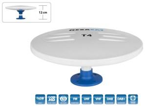 Antena DVB-T VHF+UHF MEGASAT T4 44dB 28x12cm