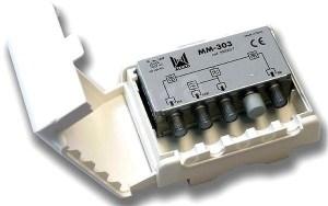 Zwrotnica Masztowa ALCAD MM-303 UHF,VHF-BIII,FM