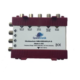 Multiswitch 5/4 Spacetronik MS-0504PLP-3