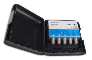 Alcad Wzmacniacz Masztowy AM-497 32dB 2xUHF VHF FM