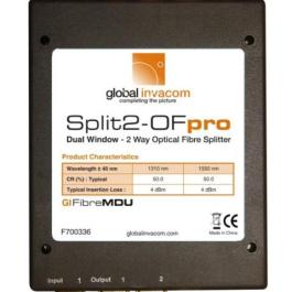 Splitter optyczny Invacom 1x2 Split2-OF pro