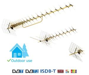 Antena Combo Funke ABM 3553 DVB-T/T2 4G  LTE 10szt