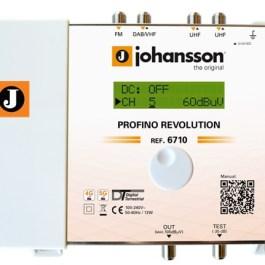 Wzmacniacz Johansson PROFINO Revolution 6710