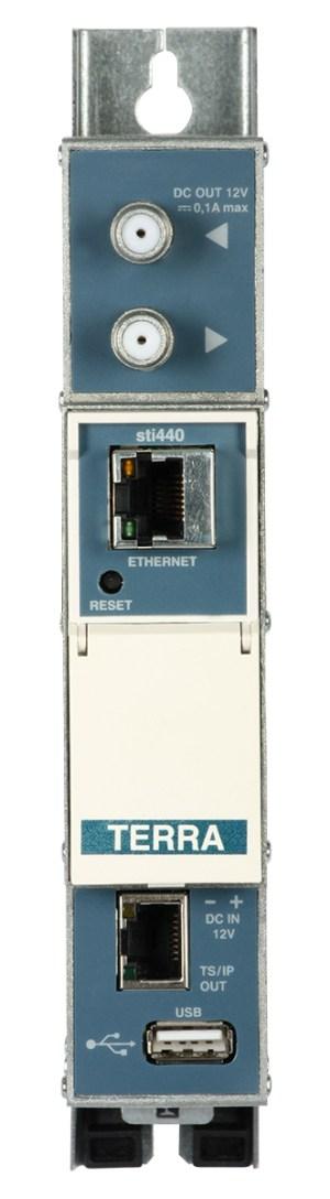 Streamer TERRA sti-440 IPTV DVB-T/T2/C-IP z USB