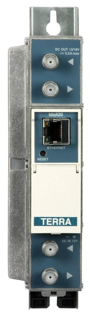 Transmodulator TERRA TDQ-420 DVB-S/S2-2xDVB-C