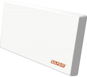 Selfsat - H22DQ+ antena płaska - z LNB Quattro