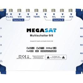 Multiswitch MEGASAT 9/8 + zasilacz