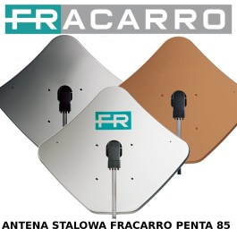 Antena satelitarna stalowa Fracarro PENTA85 grafit