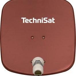 TechniSat DigiDish 45 AZ/EL bez LNB - CZERWONA