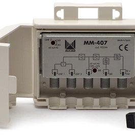 Zwrotnica Masztowa ALCAD MM-407 2xUHF-VHF,BIII FM