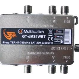 Multiswitch Unicable II GT-SAT GT-dMS1TWBT