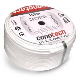 kabel RG6U CU Conotech NS 100 Trishield rolka 100m