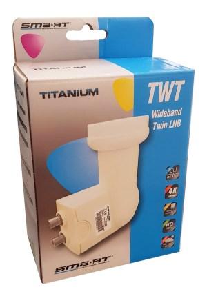 LNB WideBand SMART Titanium TWT H+V