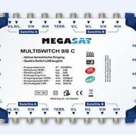 Multiswitch kaskadowy Megasat 9/8 C
