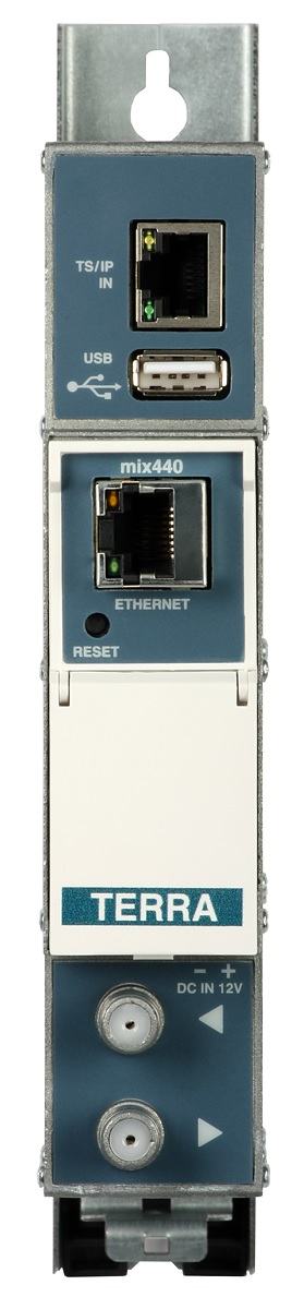 Transmodulator TERRA mix-440 IP - 4x DVB-T z USB