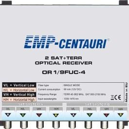 Odbiornik optyczny EMP-Centauri OR1/9FUC-4