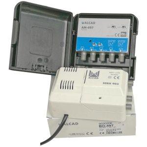 Alcad Zestaw KIT BO-497 24V 32dB UHF VHF FM LTE700