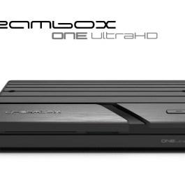 Dreambox One Combo Ultra HD 4K DVB-S2X/T2/C MIS