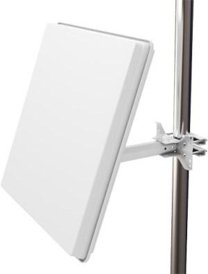 SelfSat H50D4 antena płaska z lnb quad powystawowa
