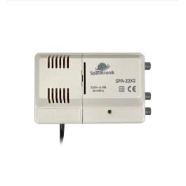 Wzm. wielozakresowy Spacetronik SPA-22X2 VHF UHF