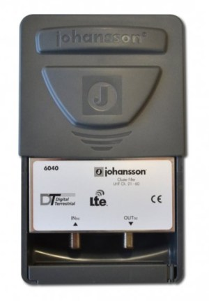 Filtr LTE 5G 4G Johansson 6040C48 470-694 MHz